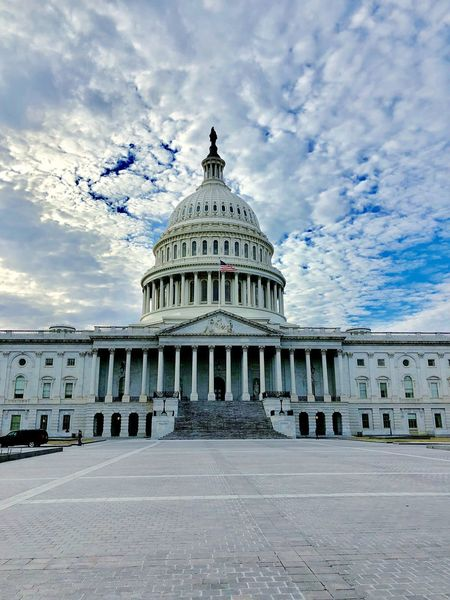 Capitol Architecture Built Structure Cloud - Sky Sky Building Exterior Dome EyeEmNewHere Government Travel Destinations Day Architectural Column No People Outdoors City