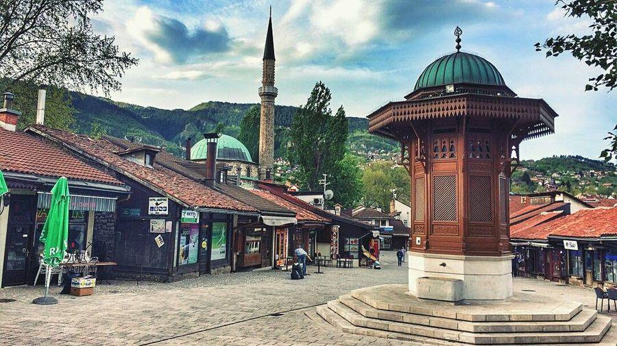 Sarajevo, Bosnia Sarajevo Bosnia And Herzegovina Sebilj Miles Away