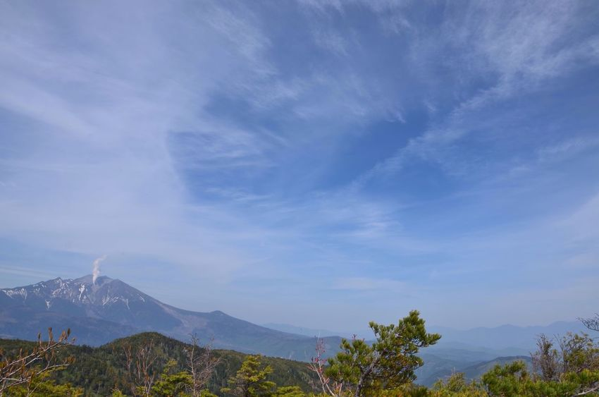 Mauntain Mountain View Top Of Mountains 御嶽山 Nature EyeEm Nature Lover Sky Sky Collection Clouds And Sky