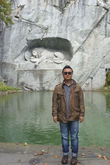 스위스 루체른.. 빈사의 사자상... 2년전과 느낌이 다르다.. Travel That's Me Swiss Luzern Lowendeukwal