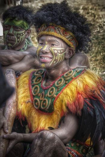 Multi Colored Tradition Happiness Traditional Clothing Tribal Tribesmen Smiling Aliwan Festival 2017 Philippines ❤️ Eyeem Philippines Costumes Festival Season Kulotitayclicks Kulotitay Clicks Art Is Everywhere