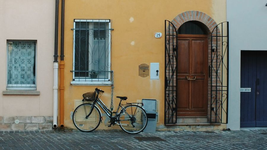 EyeEm Selects Bicycle Door Retro Styled Old-fashioned No People Outdoors Architecture EyeEm Best Edits Full Frame EyeEm Masterclass Masterclass Master_shots EyeEmNewHere EyeEm Best Shots Visual Inspiration Tranquil Scene Close-up Doors With Stories DoorsAndWindowsProject Built Structure Architecture Building Exterior Travel Tranquility Breathing Space Investing In Quality Of Life Your Ticket To Europe The Week On EyeEm