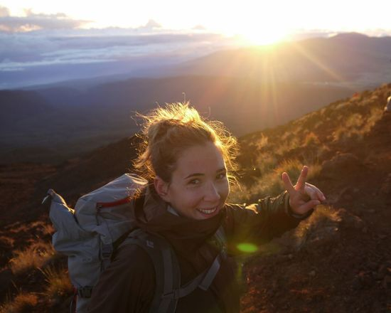 made it to the Mountaintop of Piton Des Neiges by Sunrise ! Relief Achievement Hiking Joy Reunion Island Victory Sign Telling Stories Differently The Portraitist - 2016 EyeEm Awards Girl Power People And Places
