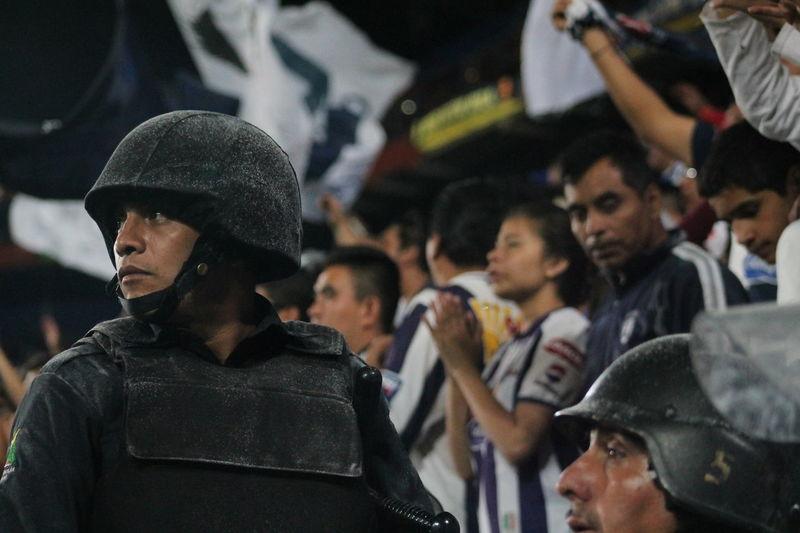 Aficion Futbol LigaBBVA Pasión  Police Secure Semifinal TuzosvsLeón