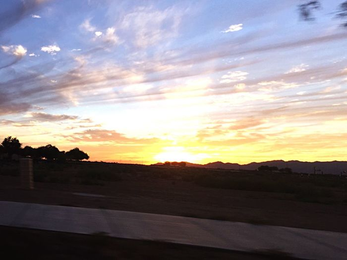 The sun can get pretty hot here, but every time it rises or sets, it's pretty worth it. Sun Sunrise Phoenix Arizona