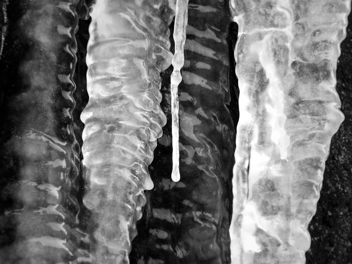 Water Close-up Nature Sea Day Beauty In Nature Outdoors No People Snow Ice Nature Backgrounds Light And Shadow Black & White Black And White Photography Waterdrops