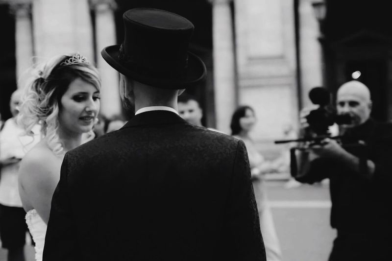 Newlyweds Real People Taking Photos Photography Blackandwhite Happy Love