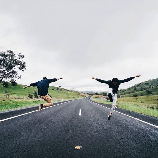 'live for the journey, not the destination' // we saw this amazing road on the way back from our weekend trip and had to stop the car to take photos! happy hump day everyone! Find_andrey Jumpstagram Seeaustralia