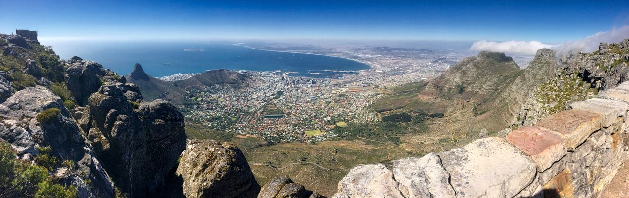 Cape Town, South Africa Kapstadt Südafrika Beauty In Nature Day Landscape Mountain Nature No People Outdoors Rock - Object Scenics Sea Sky Tafelberg Travel Destinations