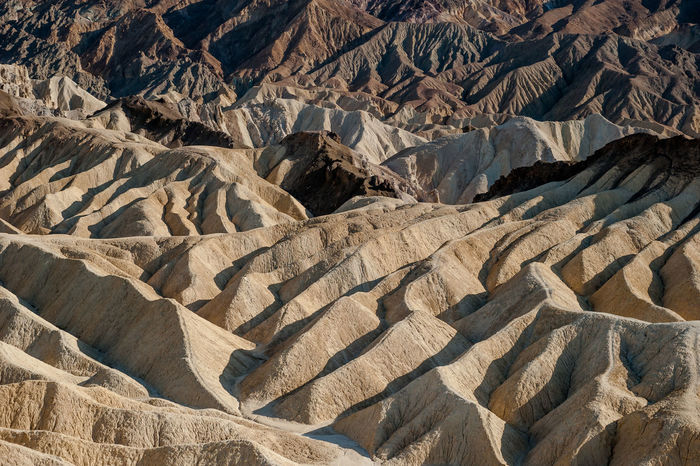 Backgrounds Close-up Day Full Frame Hills Landscape Mountains No People Outdoors Point Of View Shadow Wrinkles Zabriskie Point