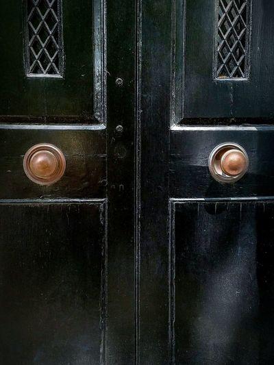 Wood Door Aged
