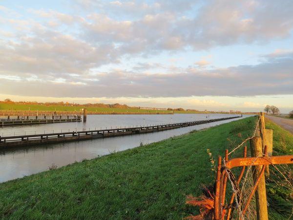 the walks 2017 Landscape Rural Scene Tranquil Scene Sky Scenics Horizon Over Water Wijkbijduurstede Amsterdam Rijnkanaal Holland Rhein Thenetherlands Rijn Clouds Water Grass Backgrounds