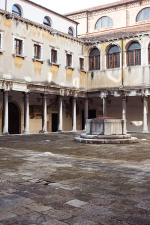Abandoned Arch Architectural Column Architecture Building Building Exterior Built Structure City Courtyard  Day Empty History Nature No People Old Outdoors Residential District Ruined The Past Town Venice Weathered Window