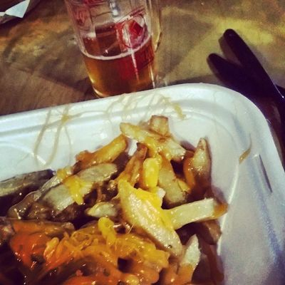 Beer fest, poutine. Awesome.