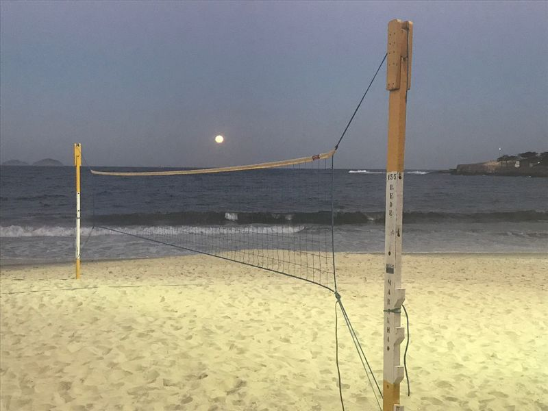Sea Beach Sand Water Nature Beach Volleyball Shore Horizon Over Water Outdoors Tranquility Scenics Net - Sports Equipment Beauty In Nature Tranquil Scene No People Sky Day