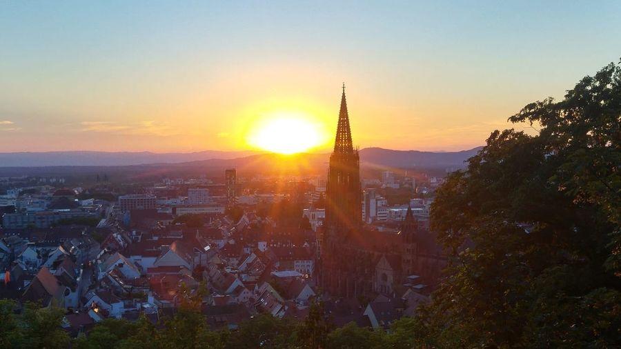 Sunset Freiburg
