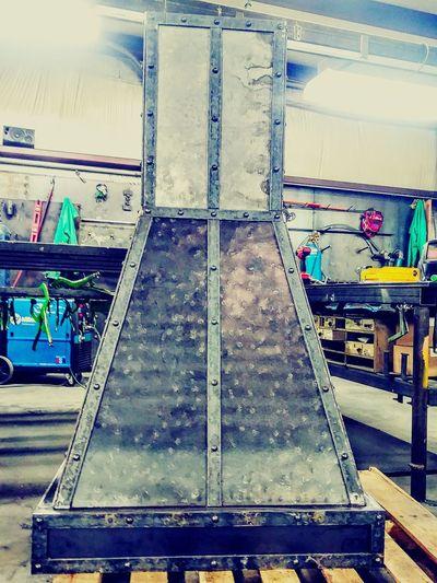 My job is my hobby/-rangehood Metalworks Job Done Myhobby Handcrafted