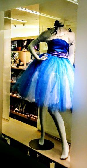 Eyem Gallery Museum Of Fine Arts Museum Store Irwin Collection Day Retail  Ballet Dress Manikin Blue Dress
