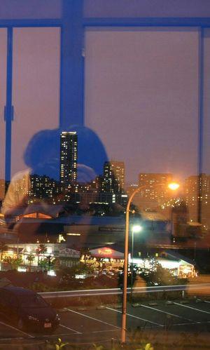 和食処にて❤ Window Taking Photos Night View That's Me Relaxing Japan Anti Selfie Anti-selfie