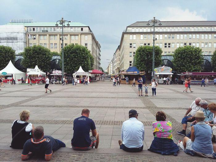 People Resting and Enjoying themselves at Hamburg Rathausmarkt. · Germany 040 Hamburgmeineperle Urban Life City Life Tourism Tourists Central Plaza Main Plaza City Center Town Hall Urban Landscape Architecture Nice Day