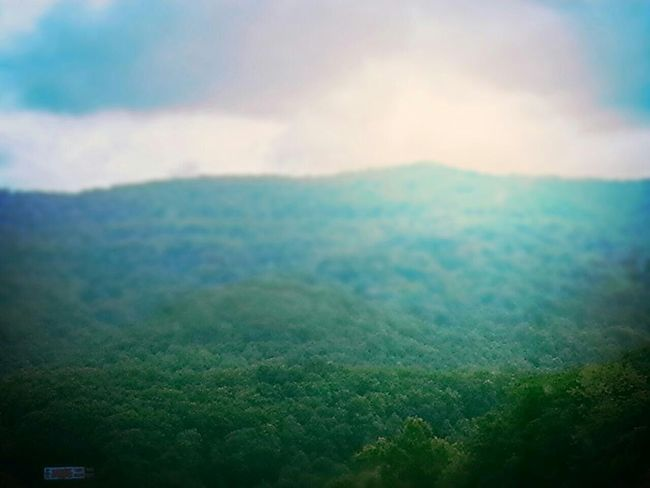 Road Trip Kentucky  Georgia Via Michigan Landscape Green Hillside