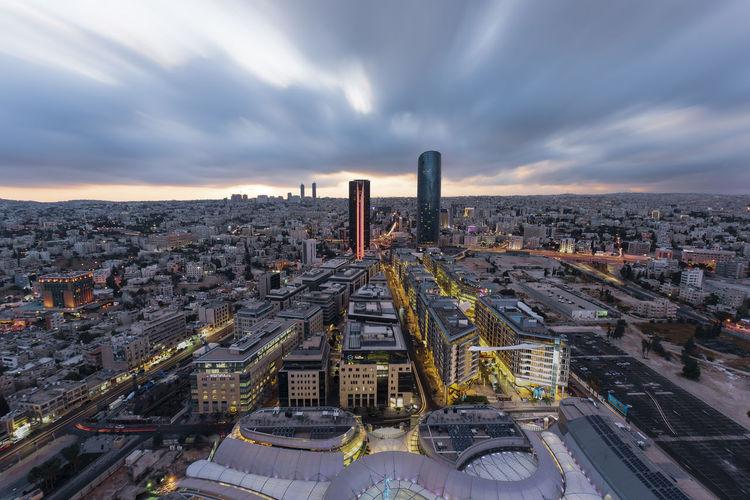 Amman cityscape view