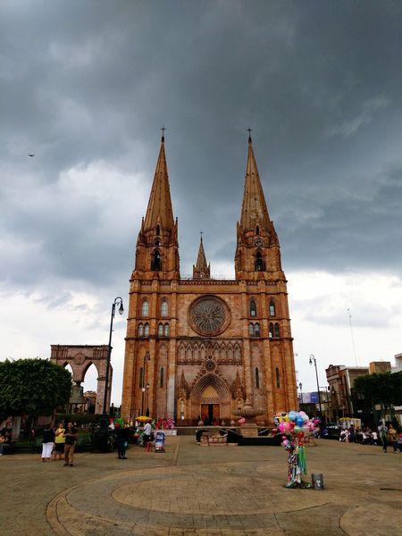 Cathedral Catholic Church Iglesia Católica  Iglesias Templo Arandas Jalisco Pueblito Village Gothic Gothic Architecture Gothic Style Gotico