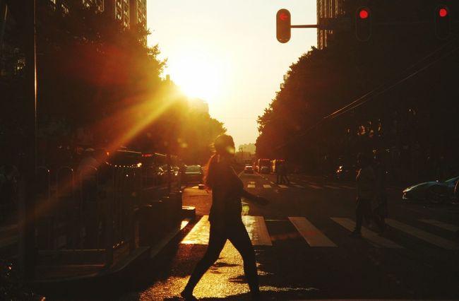 Full Length Metal Industry Occupation Working Standing Sunset Men Silhouette Sunlight Sky
