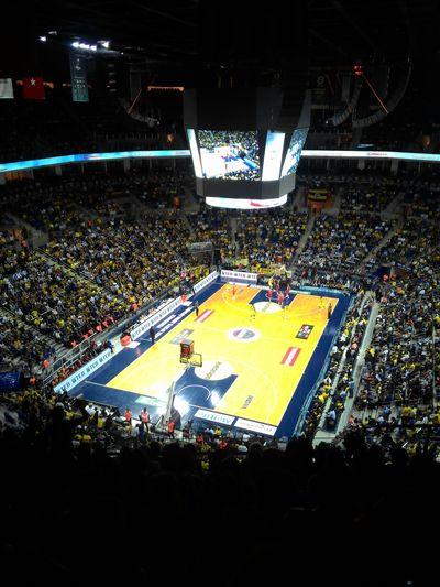 Fenerbahcem Fenerbahce  Fenerbahçe SK Fenerbahçe♡ ülkersportsarena Fbbasketbol Basketball Basketball Game Basketball ❤ Basketball Is Life Spor