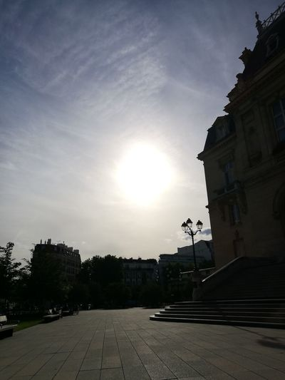 Warm rays of sun.