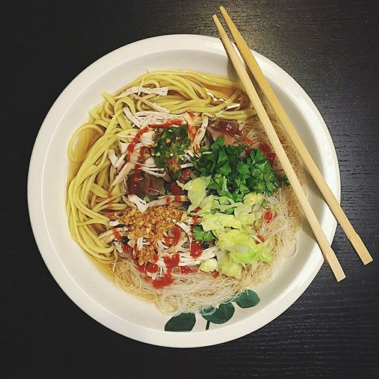 Mix Ready-to-eat Chopsticks Soup Healthy Eating 🎈👻