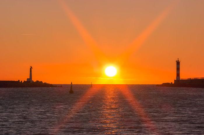 Dawn Laurent Vankilsdonk No People Orange Color Outdoors Sun Travel Destinations