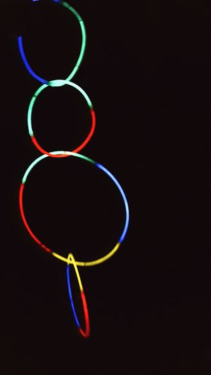 Lights in the night Multi Colored No People Black Background Glowlight Glow Colorful Color Neon Lights Iluminated Night Lights Nobody Darkroom Shiny Spectrum Night Light Dark Close-up Neon Circles