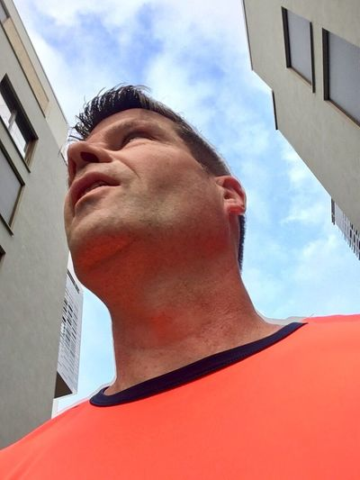 Laufen am Morgen Architecture Sports Photography Jogging Laufen Running Lauftreff Bahnstadt