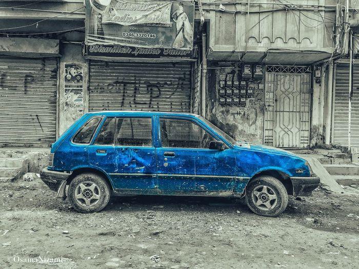 Old vintage car