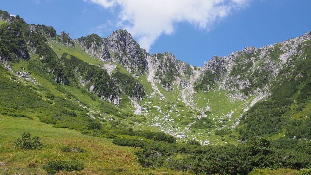 千畳敷カール Mountains