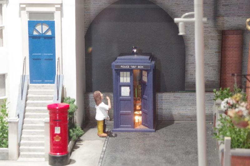 Babbacombe Devon Miniature Model Village Sculpture