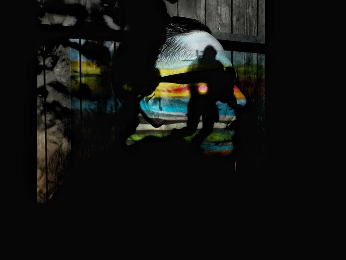 amends Depths Abstract Conceptual Art Portrait Of A Man  Visual Stories Silhouette Real People