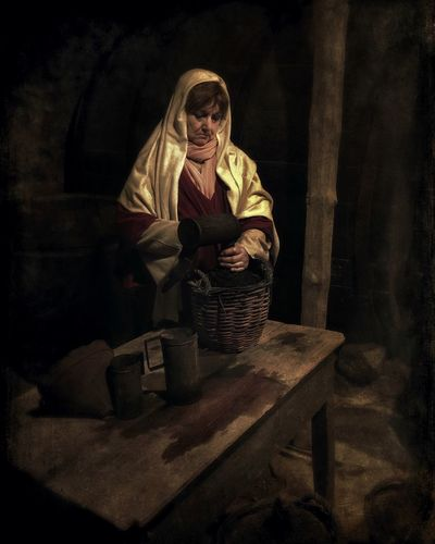 Traditions Catalunya Traditional Culture Pessebre Tranquil Scene Capturing History People Wine Wine Cellar