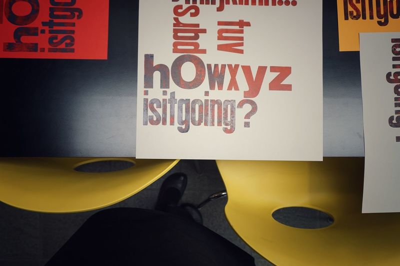 How is it going? | Print Letterpress Printing Still Life Close-up Old Job  Getting Inspired Colors Textures And Surfaces Sheets Envision The Future Tipoteca Italiana EyeEm Italy |