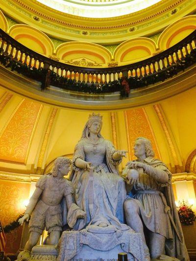 Sacramento California Capitol We'll Never Be Royals Peasants Statues Art