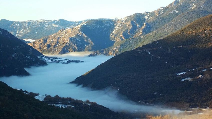 Nature Mountains Landscape Fog Catalunya Catalonia Nature_collection Paisatges Catalans Landscape_Collection EyeEm Nature Lover Bineural