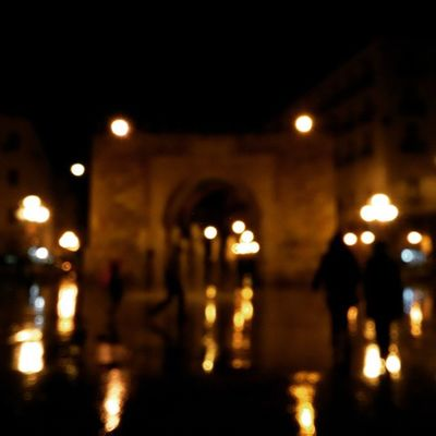 Rain Tunisia Igertunisia Light Reflected Glory by night رحمات و جمال ... جل الرحيم في علاه :)