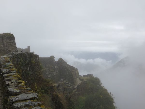 Sky No People Nature Outdoors Day Mountain Beauty In Nature Architecture Tree Inca Trail Peru Travel Destinations Inca Ruins