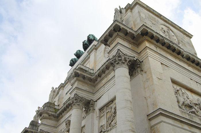 Siegestor Triumph Arch Deutschland Munich München Triumph Arch Germany Siegestor