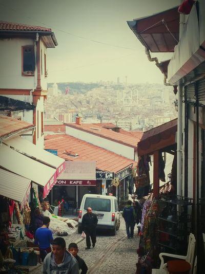 Bu da kendi elceğizlerimin marifeti 😉✋📷 Myphoto Ankarakalesi Kendicekimim Castle Streetphotography Manzara Ankara Kocatepe Camii Bestshot Atpazarı