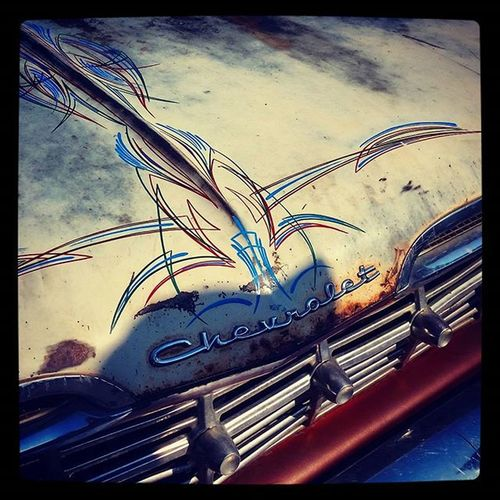 Chevy Pinstriped CarnageOnLarimer2015