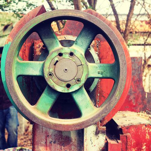 Old machine valve
