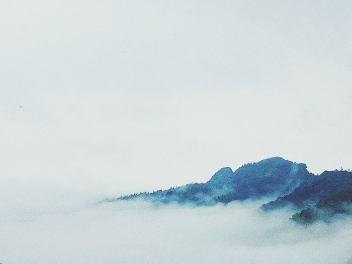 Mountains Foggy