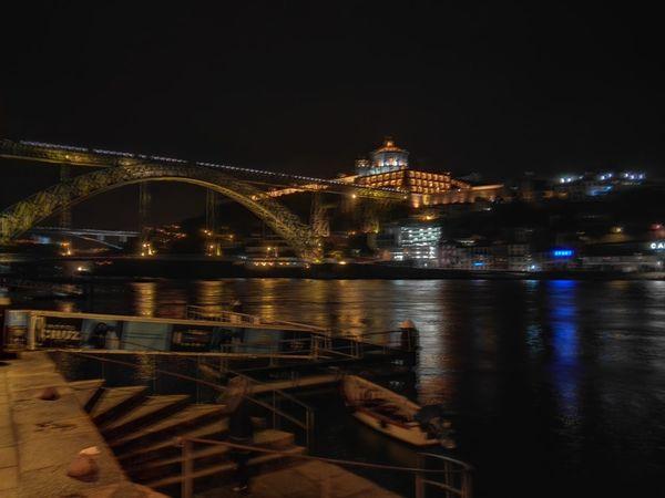 Porto Ponte D Luis Douro  Douro River River Night Night Photography Bridge